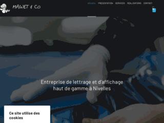 Détails : Entreprise de lettrage et d'impression à Nivelles
