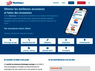 MaxiAssur, votre courtier en assurance dommages ouvrage devis en ligne