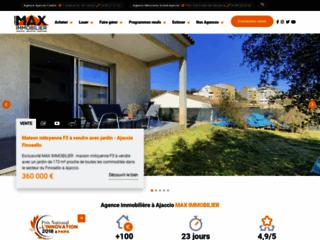 Détails : La référence en immobiliers à Ajaccio.