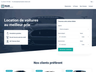MAZE - Car Rental Tunisia