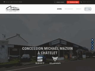 Michaël Mazuin Châtelet, concession VW et VW Utilitaires