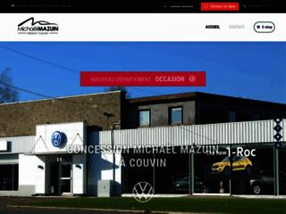 Garage Michaël Mazuin à Couvin, concessionnaire Volkswagen et VW Utilitaires
