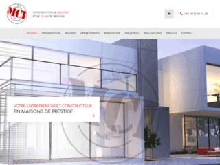 MCI, le spécialiste dans la construction des maisons de prestige