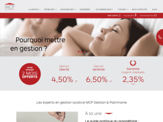 Détails : MCP Gestion locative et patrimoine