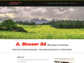 A.Mooser SA, engins forestiers et agricoles