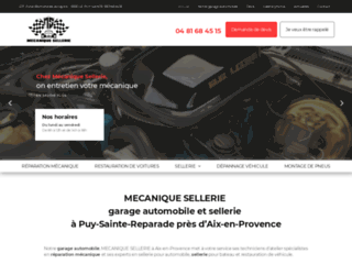 garage automobile et sellerie à Puy-Sainte-Reparade près d'Aix-en-Provence