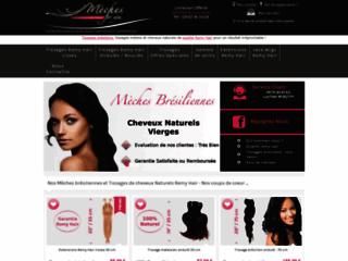Détails : Mèches for You : vente de tissage en cheveux naturels