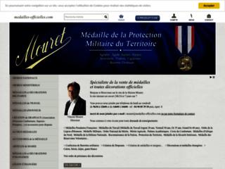 Détails : Medailles-officielles.com : fabrication et vente de médailles et décorations officielles