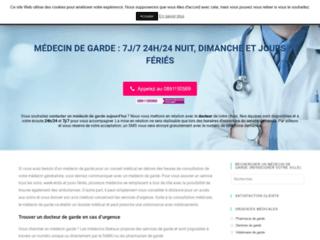 Médecin de garde avec Medecin.info-garde.fr