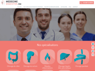 Service de médecine digestive de la clinique Saint-Luc à Bouge (Namur) : chirurgie digestive et générale