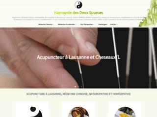 Homéopathie à Lausanne - Institut des deux sources