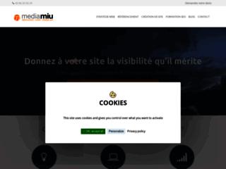 Détails : Mediamiu, référencement Internet Rennes