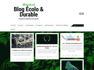 Mediaplanete : Blog ecolo