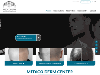 Détails : Medico derm Center, solutions contre la calvitie en Belgique