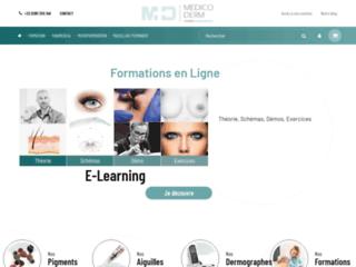 Détails : Medico Derm, formations en maquillage permanent