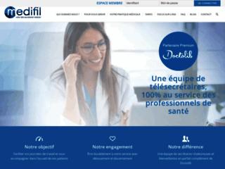 Détails : Medifil, votre secrétaire médical à distance