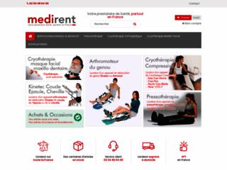 Détails :  La solution pour la location de matériel médical.