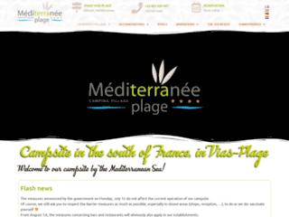 Camping Méditerranée Plage à Vias
