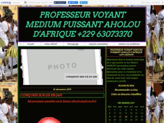 PROFESSEUR VOYANT MEDIUM PUISSANT AHOLOU D'AFRIQUE