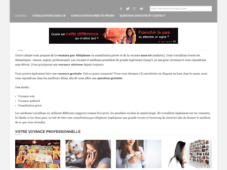 Détails : Meilleur site de voyance - voyance online