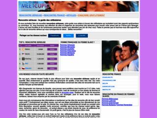 Détails : Rencontre sérieuse grâce à internet : Meetcupid.net