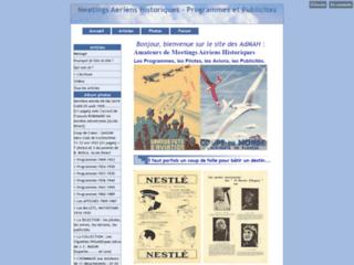 Meetings Aériens Historiques - Programmes et Publicités