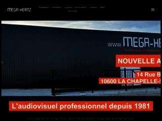Détails : Mega-Hertz, sonorisation et instruments de musique