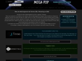 Détails : Mega P2P, téléchargement vidéo, musique et logiciel