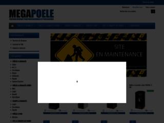 Détails : Megapoele.com: vente en ligne de poêle à granulés pas chers