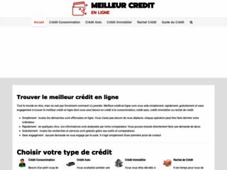 Détails : Le comparateur de prêt meilleur credit en ligne