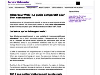Détails : Comparatif d'hébergeur de site web