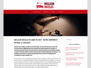 Meilleur matelas en ligne disponible en France