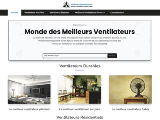 Détails : Meilleur ventilateur de poêle à bois
