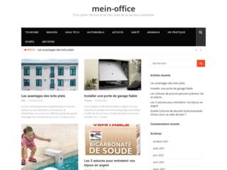 Détails : Site de promotion par l' écrit mein-office.biz