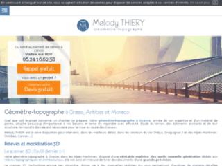 Détails : Melody Thiery, cabinet topographie à Grasse