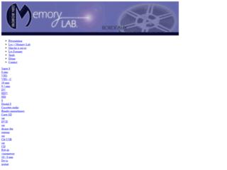 Détails : Memory lab'
