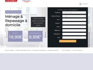 Détails : Ménage et repassage à domicile sur Ménage.fr