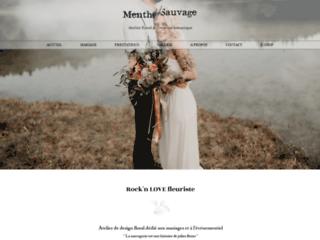fleuriste lyon – atelier menthe sauvage