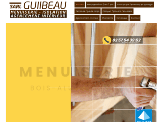 Détails : Menuiserie Guilbeau, Entreprise de menuiserie
