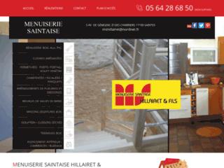 Détails : Menuiserie Hillairet et Fils, Menuiserie Saintaise