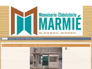 Menuiserie Marmié mixte bois alu Soturac Lot Fumel