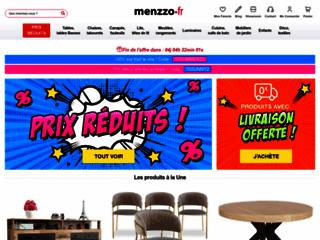 Menzzo, vente de meubles pour la maison