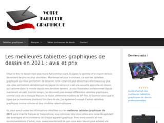 Comparatif tablettes de dessin