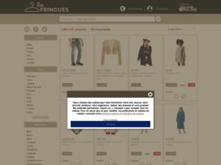 mesfringues.fr, boutique de vêtements pas chers