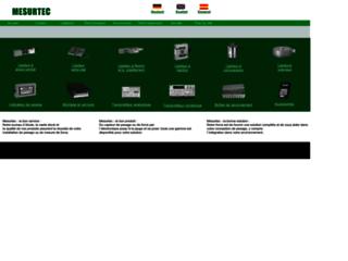 Mesurtec: solutions de pesage industriel