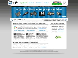 Le rachat d'objets pour recyclage avec Métalcash