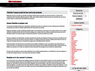 Détails : Annuaire gratuit d'articles metalinks