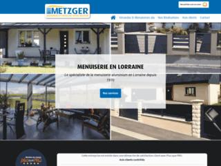 Metzger : Entreprise de menuiserie aluminium et vérandas à Metz
