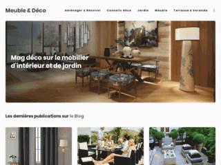 Blog pour mobiliers d'intérieur et de jardin