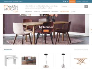 La vente de meubles et objets originaux